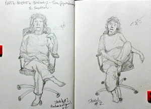 Part 4 Project 4 Exercise 2 - Three figure drawings - Seated