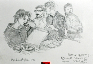 Part 4 Project 5 Exercise 2 - Groups of figures, sketch 1