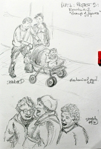 Part 4 Project 5 Exercise 2 - Groups of figures, sketches 3 & 4