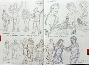 Part 4 Project 5 Exercise 2 - Groups of figures, sketches 9,10 & 11