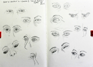 Part 4 Project 6 Exercise 1 - Facial features - eyes