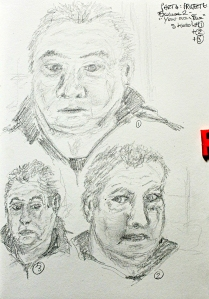 Part 4 Project 6 Exercise 2 - Your own face, sketches 1-3